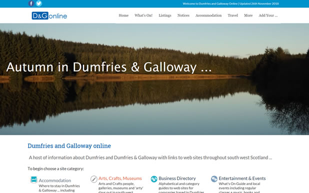 Dumfries and Galloway Online